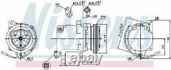 Nissens 89163 Compressor Air Conditioning