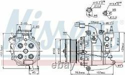 Nissens 89246 Compressor Air Conditioning