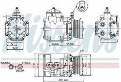Nissens 89248 Compressor Air Conditioning