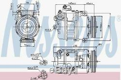 Nissens 89417 Compressor Air Conditioning