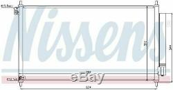 Nissens 940341 Condenser Air Conditioning