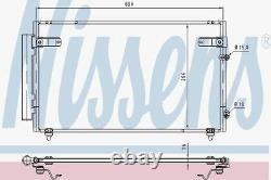 Nissens 940368 Condenser Air Conditioning