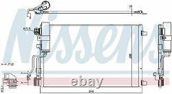 Nissens 940417 Condenser Air Conditioning