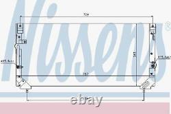 Nissens 94184 Condenser Air Conditioning