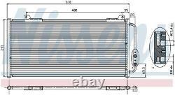 Nissens 94255 Air-con Condenser Next working day to UK