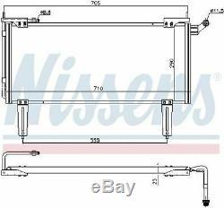 Nissens 94351 Condenser Air Conditioning