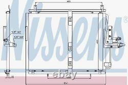 Nissens 94377 Condenser Air Conditioning