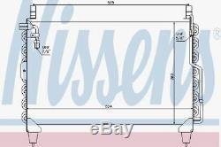 Nissens 94398 AC Condenser fit MERCEDES S-CLASS W 126 (79-)