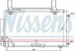Nissens 94735 Condenser Air Conditioning