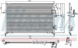 Nissens 94808 Condenser Air Conditioning