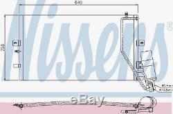 Nissens 94862 AC Condenser fit SAAB 9-5 02