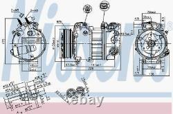 Nissens AC Compressor 890124 Fits LAND ROVER