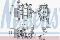 Nissens AC Compressor 89090 Fits MERCEDES