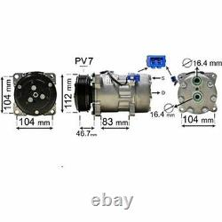 VAN WEZEL Kompressor, Klimaanlage für VW Transporter IV Bus